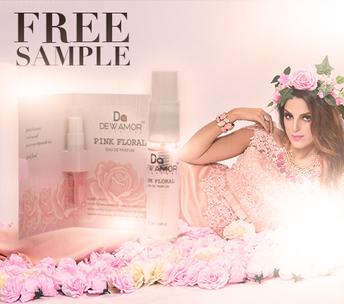 Free Dewamor Pink Floral Fragrance Sample